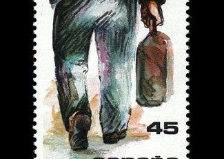 Serie La Emigración del 22 de abril. de 1986