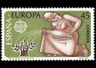 Serie Europa-CEPT  (27ª Serie) del 5 de mayo. de 1986