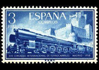 Serie XXVII Congr. Internacional de Ferrocarriles. del 29 de septiembre. de 1958